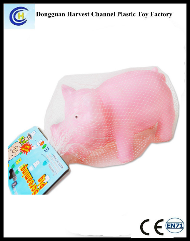 Promotional Squeeze Shrilling Screaming Pig Toys For Gifts