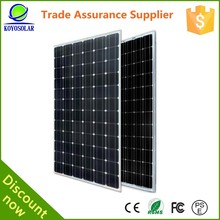 200watt normal specification roof solar panels cost