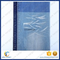 Hot selling 7oz raw lycra denim fabric with cheap price