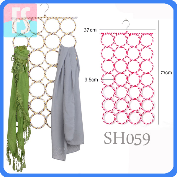 28 holes scarf hanger
