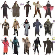 Factory zombie devil cosplay clothes carvinal halloween costumes