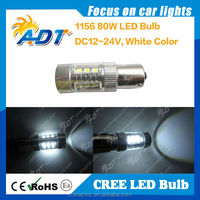 New design USA CR led 1156 ba15s bau15s high power 80w led light bulb headlights car accessories