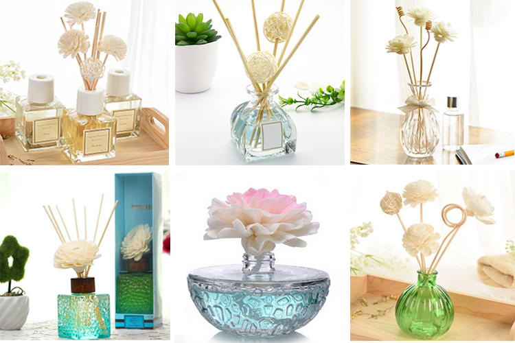 260ml Luxury Glass Aroma Diffuser Bottle for Home Decor