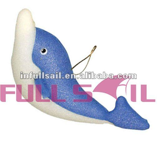 China Wholesale Good Design for Kids Dolphin Shape Bath Sponge