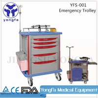 YFS-001 Easy Cleaning Easy Moving medical cart