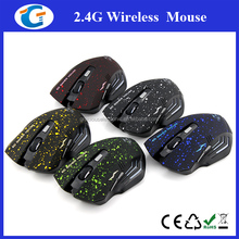 2.4g wireless gaming optical mouse for pc