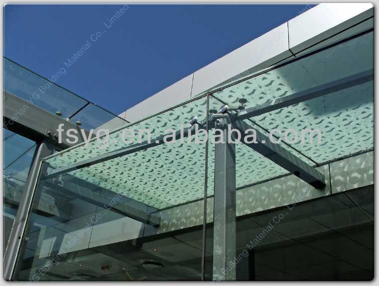 Metal Roof Canopy YG-C32