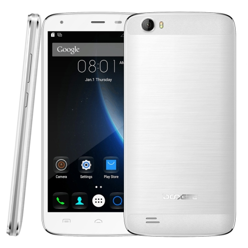 Original new arrival DOOGEE T6 Pro 32GB 6250mAh Big Battery, 5.5 inch Android 6.0 smart cellphone