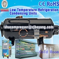 Air-cooled condensing unit compressor for Truck refrigeration cooling mobile freezing stand by power