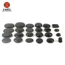 custom black massage stone body massager for vagina