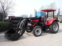 Standard Bucket FEL for Farming tractor DQ 754,75 hp 4WD tractors