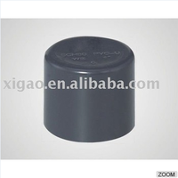 "supplier plastic end cap pvc pipes,pvc pipe fittings end cap(1/2""- 4"")"