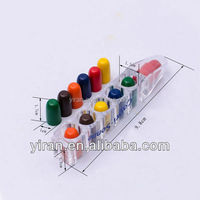Stationary Cute Multi Custome Shape Color Crayons for Kids 3 Years Old