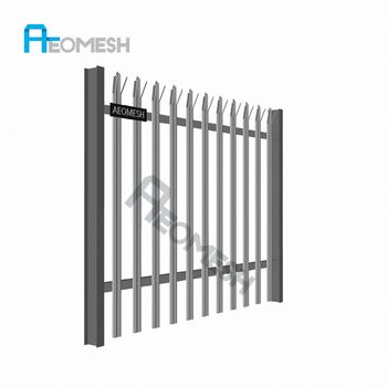 Made in Guangzhou Professional Factory Palisade Fence