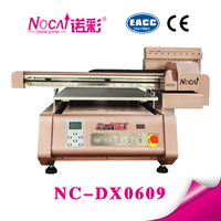 New technology A1 size two dx5 heads led uv label plastic printing machine price