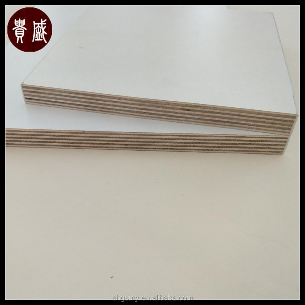 2017 hot sale 4x8 melamine board commercial plywood