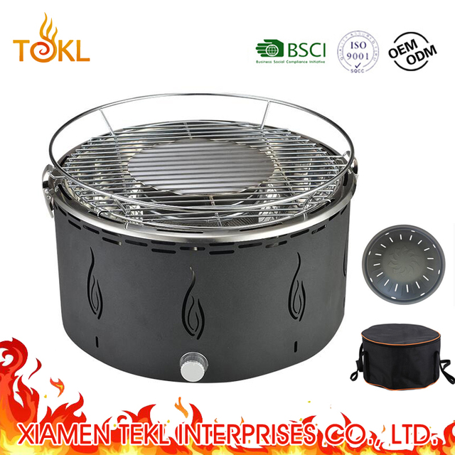 Portable Yakatori Firebrand Marine Boat bbq Fan Grill Barbecue Charcoal Car Grille Camping Lotus Grill with Korea Pan