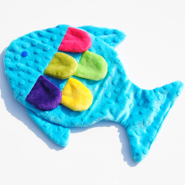 New arrival microfiber reversible baby soother security blanket