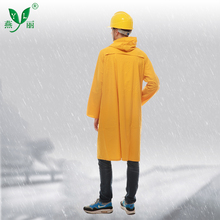 China Made Adult Hooded Motorcycle Waterproof PVC Mens Plastic Raincoat