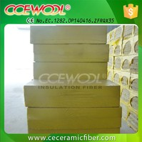 Fireproof building insulation rockwool board