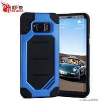 Full covering 360 degree shockproof cell phone case for samsung galaxy S8