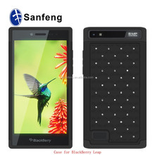 Slim fit phone case for blackberry leap Z20 silicone mobile phone cover
