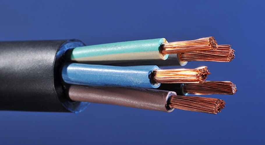 4 Core Cable Pvc : Mm flexible pvc fire resistant core cable view