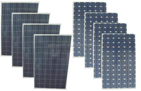 Poly and Mono 200w flexible solar panel 200w