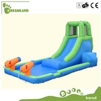 SGS passed commercial lake Inflatable mini nylon Water Slide