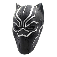 Civil War Black Panther Mask for adult Captain America 3 Hero Latex Helmet Halloween