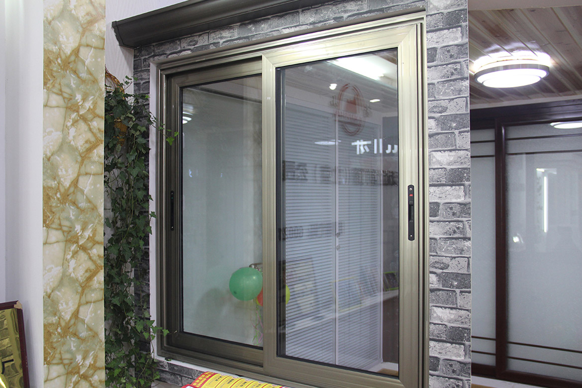 High Quality Interior Home Two Channel House Windows Tilt And Modern Aluminum Sliding Curved Window