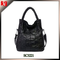 Soft Office Lady Genuine Leather Sheepskin