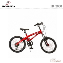 20 inch High-end Pupil 6 speed off-road type suspension fork student outdoor bike