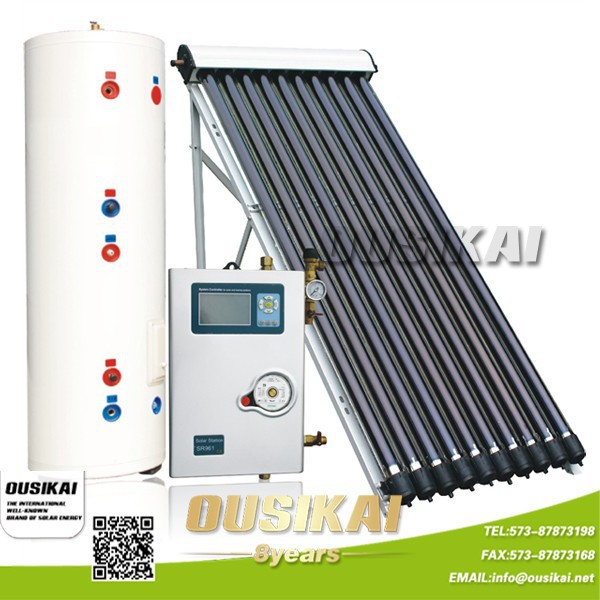 2014 Hot sell luxury separated solar heat water heater (300Liter)