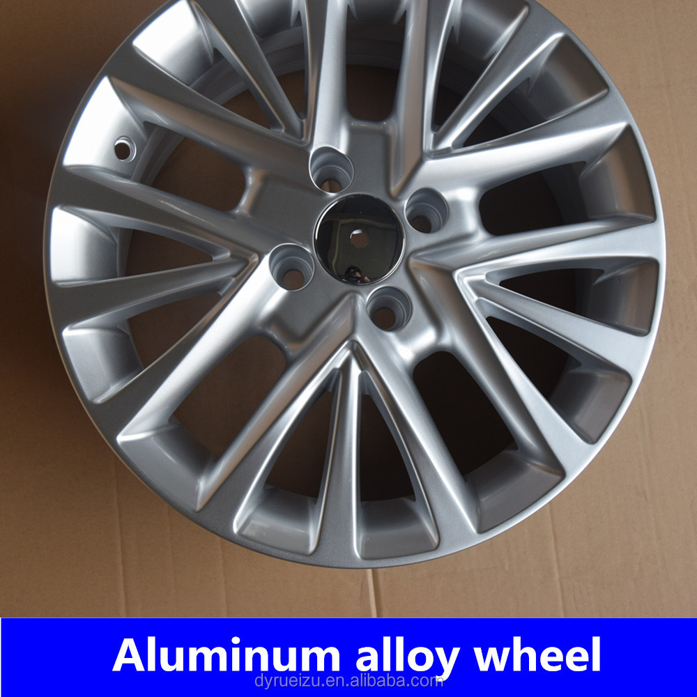 Rims and wheels car alloy 15*6 4*98 silver wheel lip for car parts