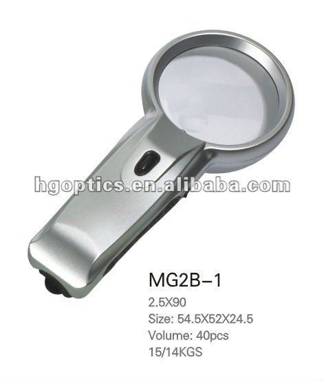 magnifier/hand magnifier/plastic magnifying glass