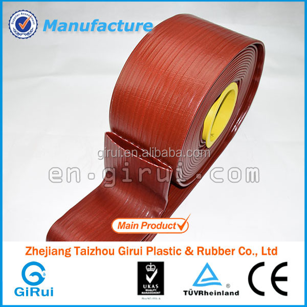 pvc lay flat flexible drain hose for washing machine