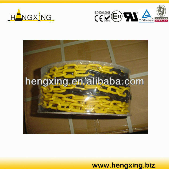 HX-PC02 8mm plastic safety barrier chain