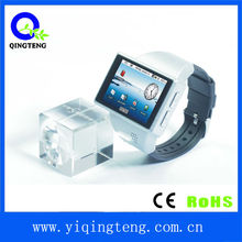 Android 2.2 OS android watch wrist phone with MP3/email/camera/wifi/GPS/G-sensor