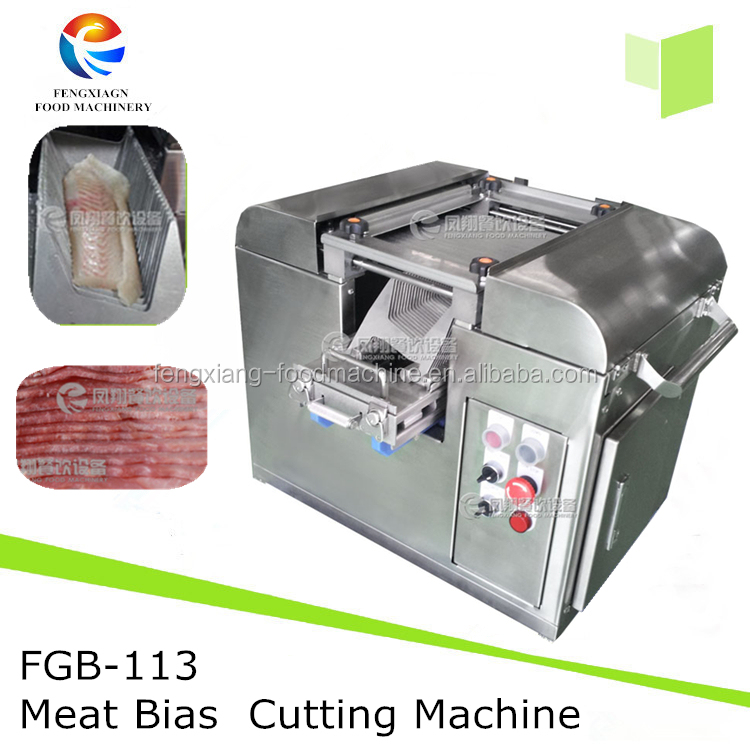 Sushi Restaurant use Salmon Fish cutting machine Frozen Meat Slicing Machine with special cutting