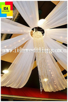 wedding roof drape/wedding party tent/used wedding and party tents wedding decoration ceiling drape