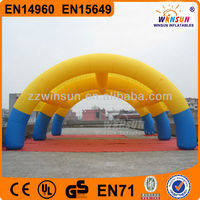 Customed outdoor party igloo 2014 new giant inflatable event tent