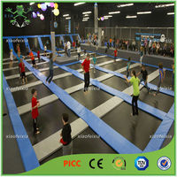 Commercial Professional Greatfun Sky Play Zone Free Place Trampoline with Basketball Hoop, Foam Pit, Dodge Ball