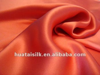 Solid Dyeing 16m/m Silk Satin Fabric