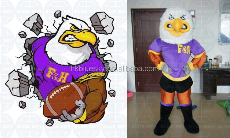 2016 new bird custom mascot costume