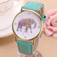 Japan movt quartz women wrist watch leather strap brand watch imitations