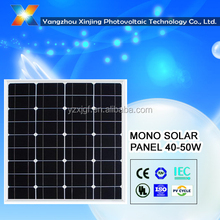 monocrystalline solar panel 40W best price high qualiy