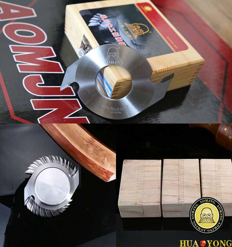 160x50x3.1x2T-5mm comb joint wood router finger jointer for tenoning machine