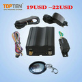 TK103 China Manufacturer Car Tracking Device GSM 4G 3G GPS Tracker Vehicle with Engine Shut off fuel sensor