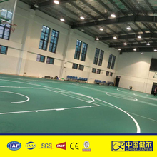 Best quality vinyl click flooring for basketball court used